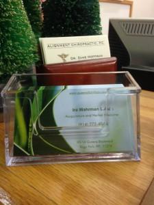 Ira Wahrman L.Ac Business Card