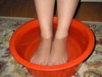 foot soaking